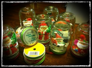 Finished Snow Globes!