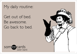 my-daily-routine