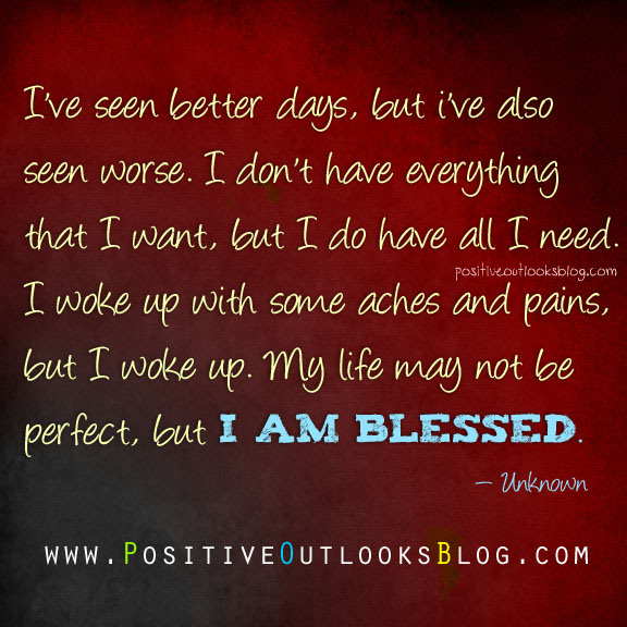 i am blessed quotes and sayings - photo #7