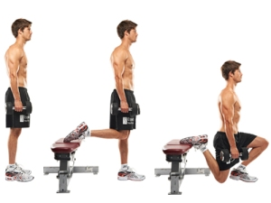 Replace Dumbbells with Kettlebells and that's what we did this morning!