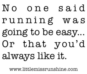 Running-isnt-easy